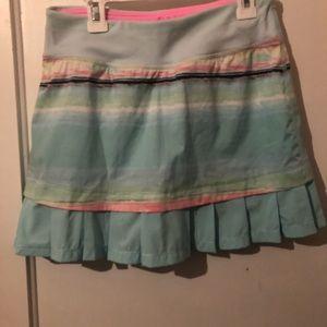 Lululemmon Ivivva girls skirt